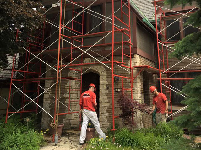 Base Coat Stucco Application Home Page
