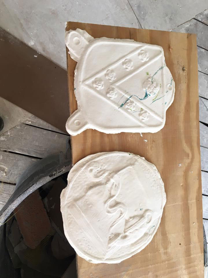 Plaster Mold Example Photo