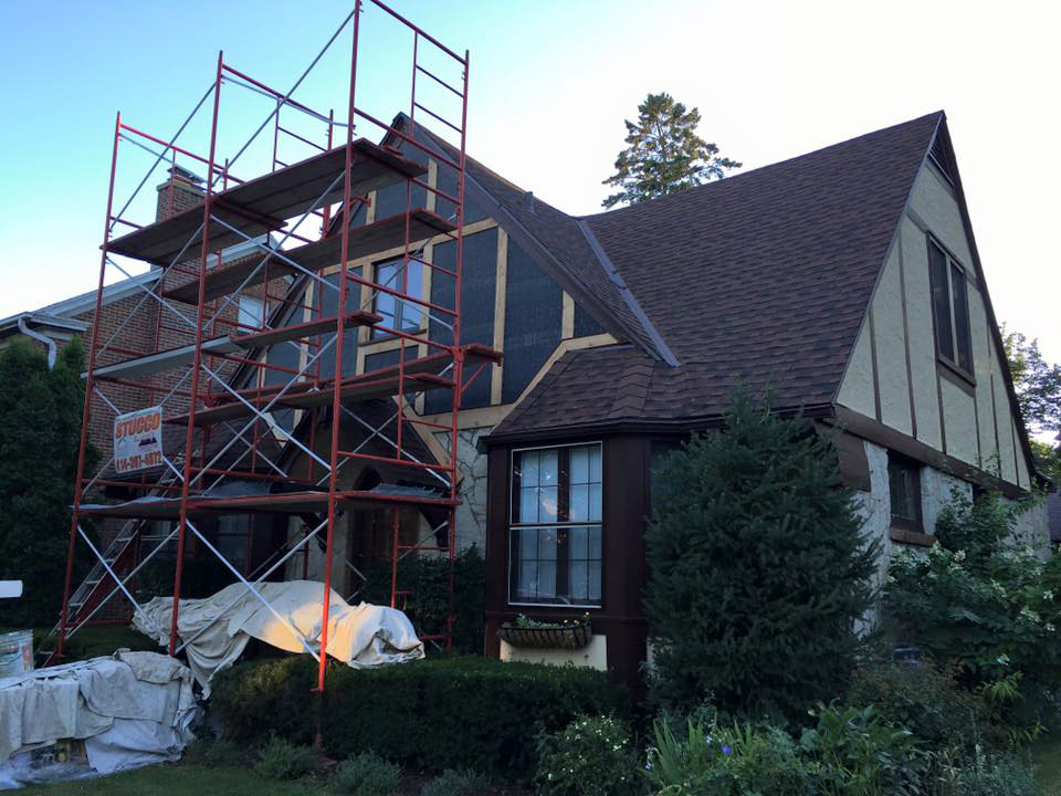 Stucco | Creative Construction of Wisconsin