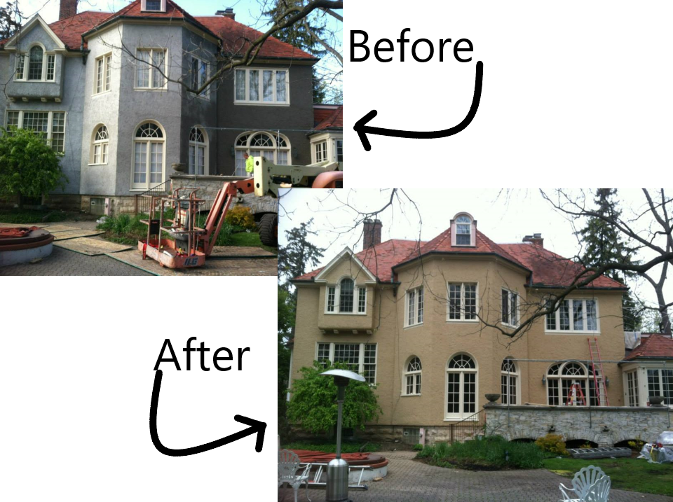 Complete Stucco Recoat