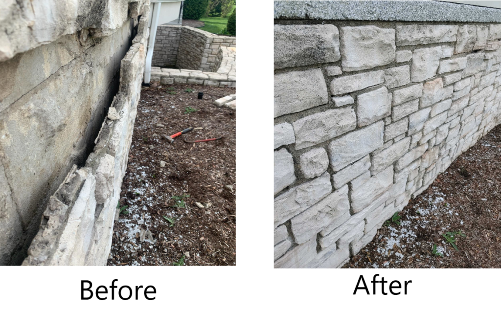 Stone Before And After